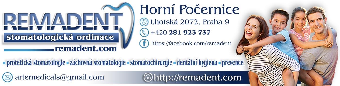 Stomatologická ordinace RemaDENT Praha 20 Horní Počernice
